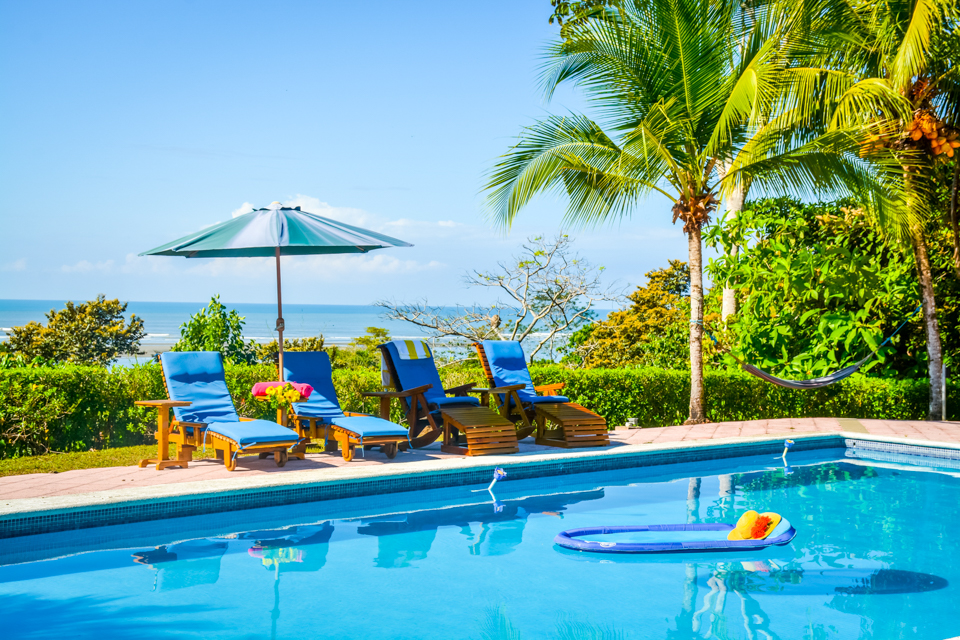 Tj costa rica journeys pool with ocean view untethered media for Pool design costa rica