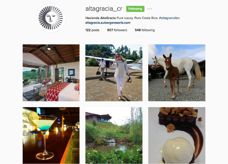 Altagracia Instagram For Tourism Marketing