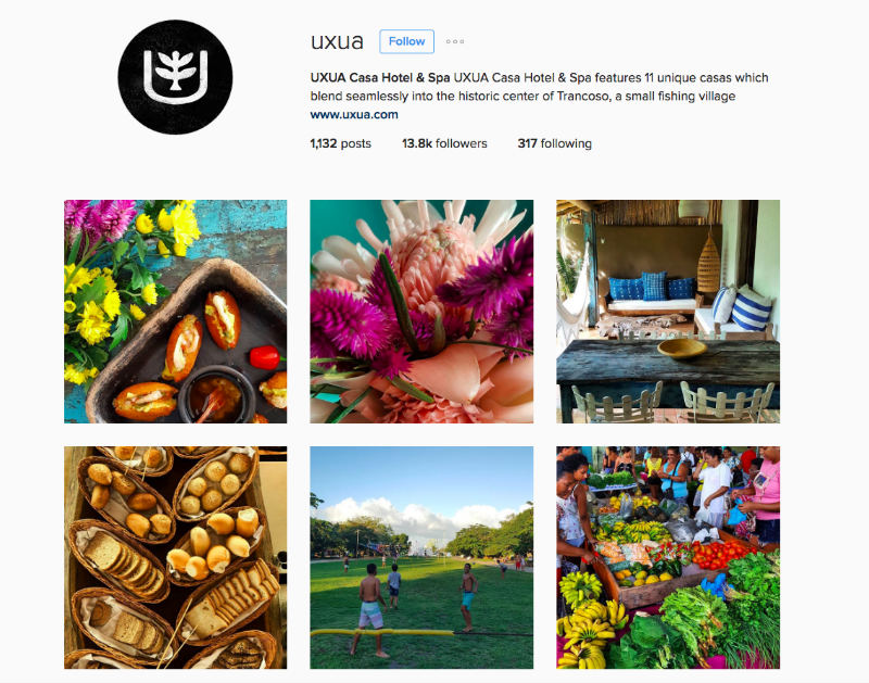 Uxua Instagram For Tourism Marketing