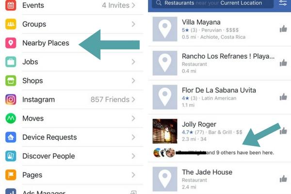 Facebook Near Me Location-Based Marketing
